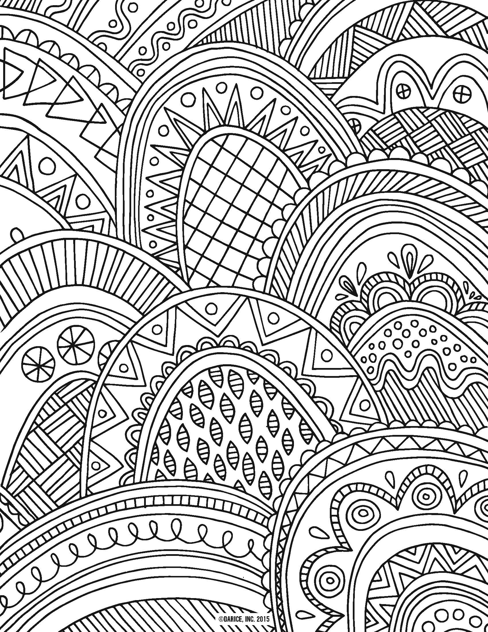 Intricate Design Coloring Pages at GetDrawings | Free download