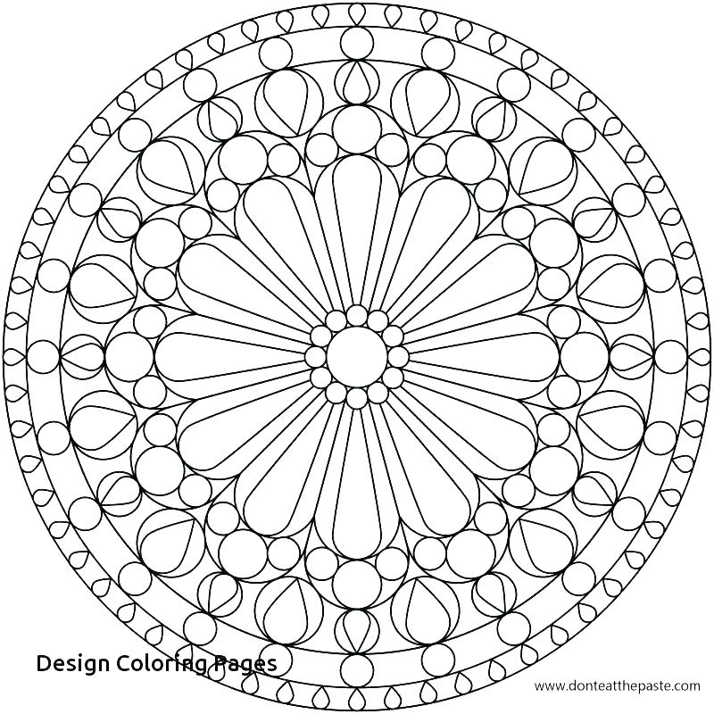 800x800 Coloring Design Pages Intricate Design Coloring Pages Coloring