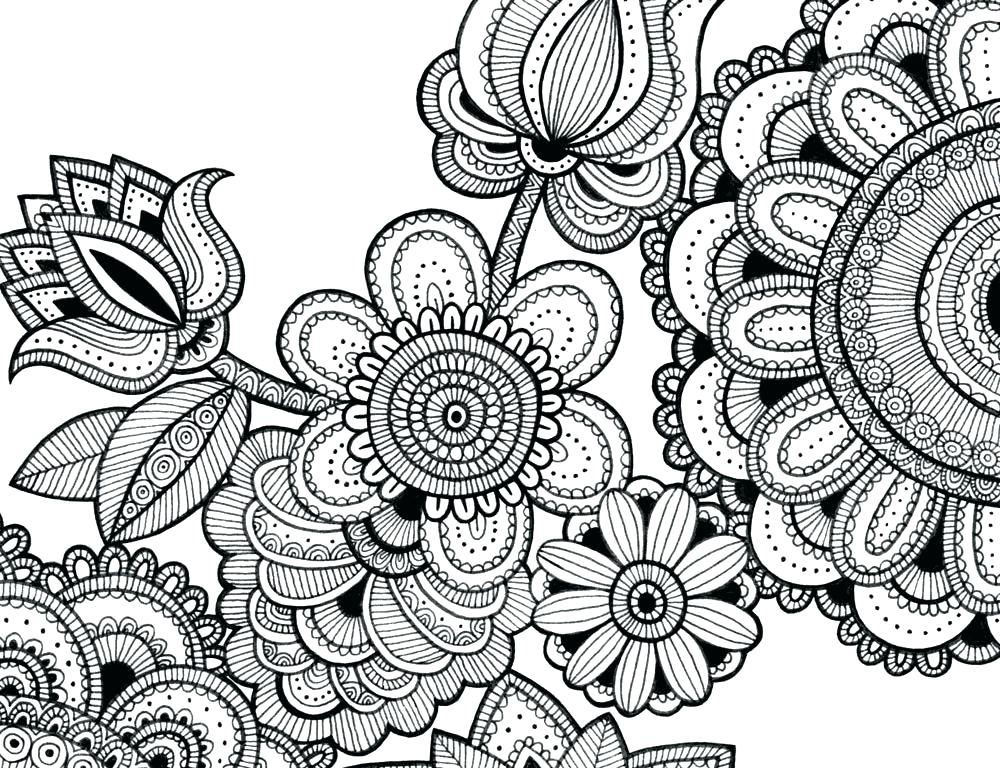 Intricate Mandala Coloring Pages at GetDrawings.com | Free ...