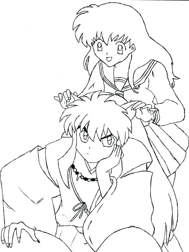 640x854 Inuyasha Coloring Pages Amazing Coloring Pages Print Top Rated