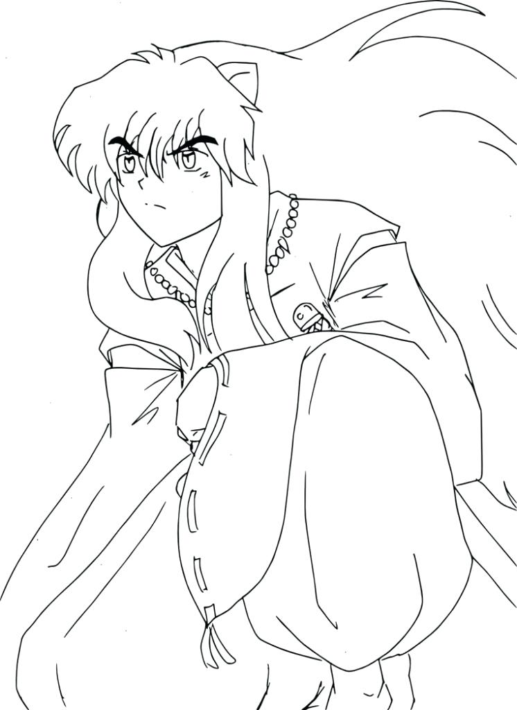 746x1024 Inuyasha Coloring Pages Top Rated Coloring Pages Images Coloring