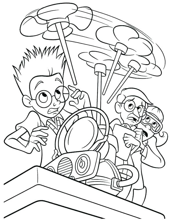 600x774 Meet The Robinsons Coloring Pages Meet The Coloring Pages