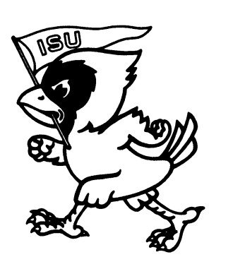 347x381 Iowa State Cyclones Coloring Pages
