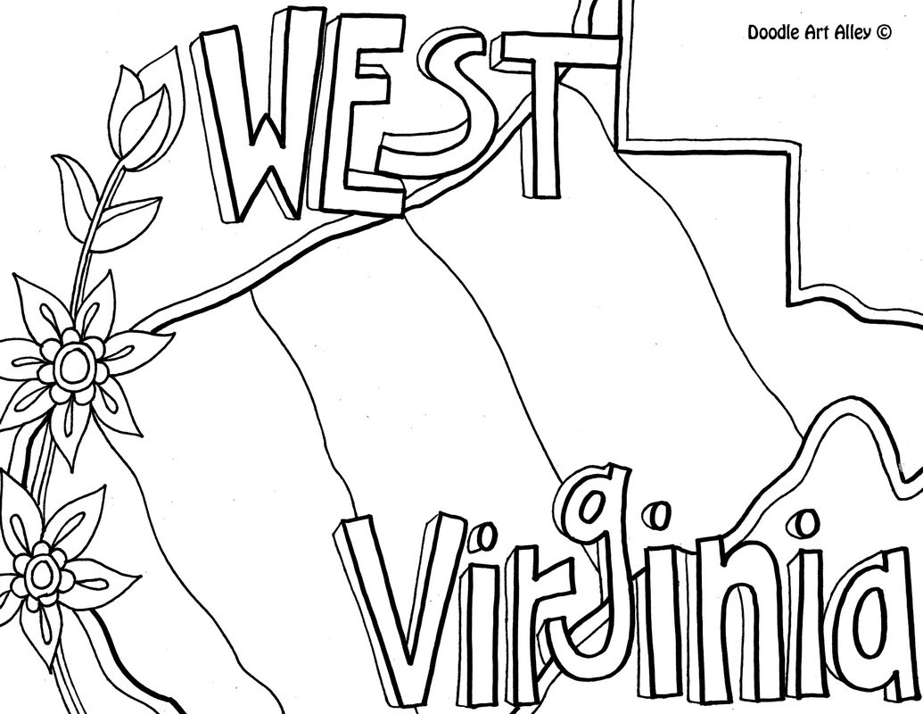 1035x800 Neat Design State Coloring Pages Usa Printables Iowa Stamp Us
