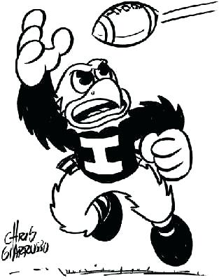 313x400 University Of Iowa Coloring Pages Coloring Pages Collection