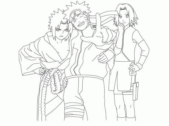 564x423 Cool Uzumaki Naruto Coloring Pages Class Coloring Lineart