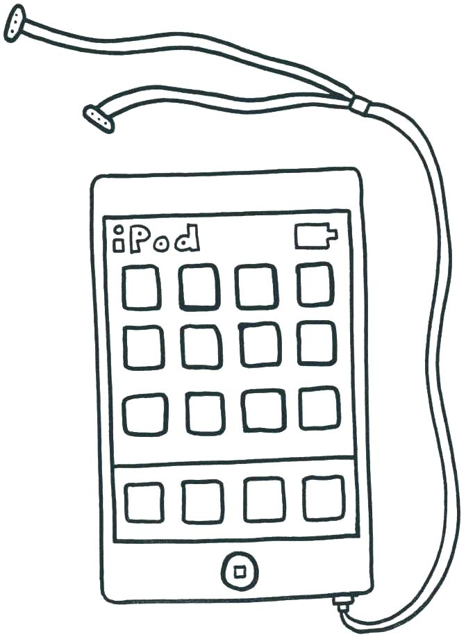 671x920 Iphone Coloring Page Coloring Page Coloring Pages Cool Pics