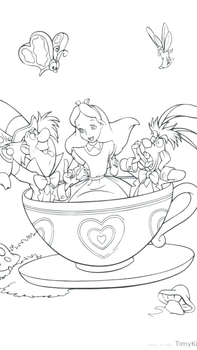 640x1136 Iphone Coloring Pages Coloring Sheet In Wonderland Coloring