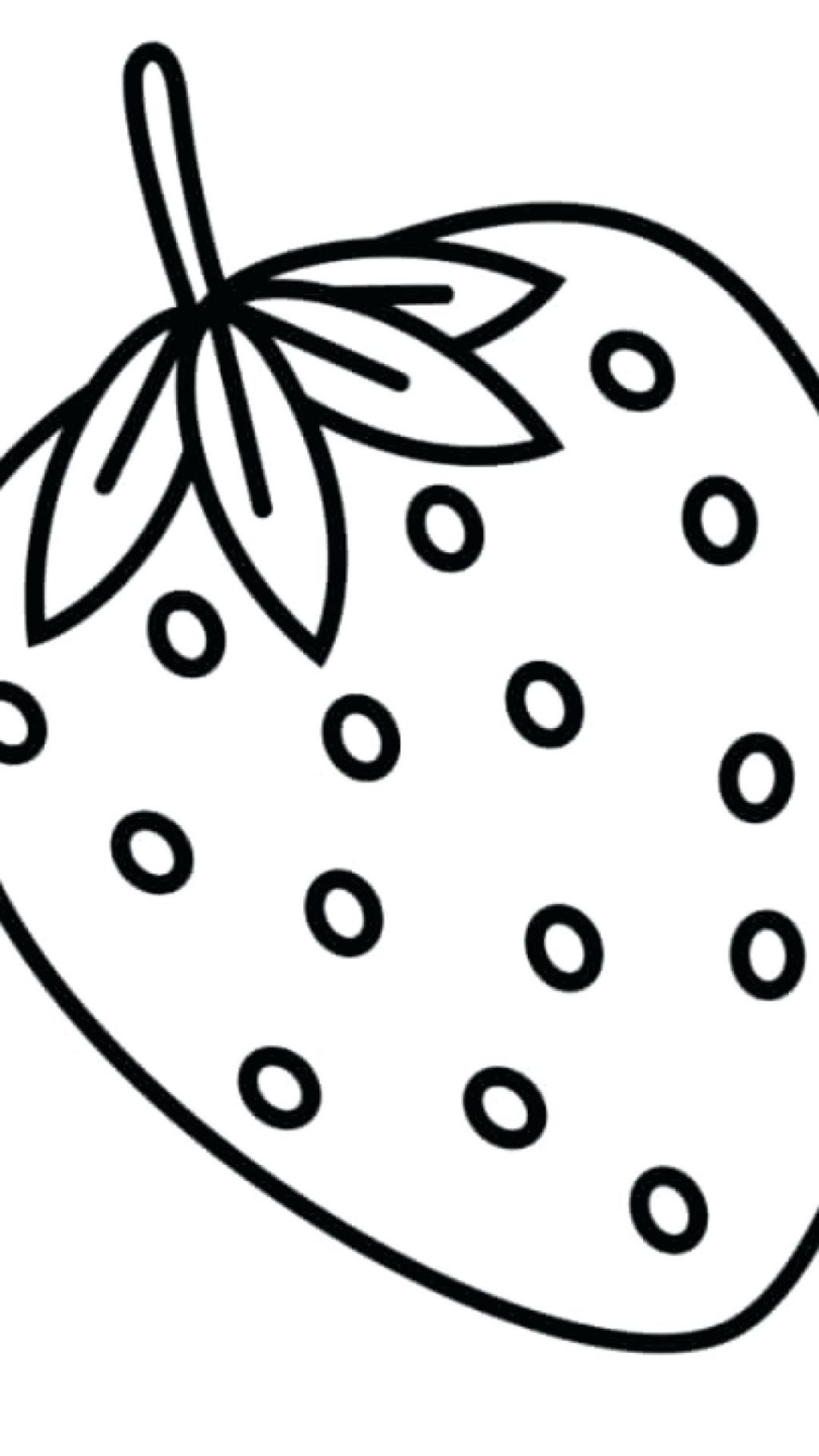 1024x1820 Coloring Page Iphone Coloring Page Strawberry Plus Pages