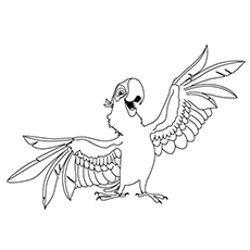 230x230 Top Rio Movie Coloring Pages For Your Little Ones