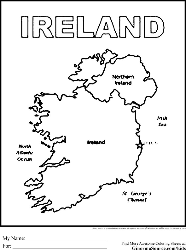 761x1024 Ireland Coloring Pages And Social Get Bubbles