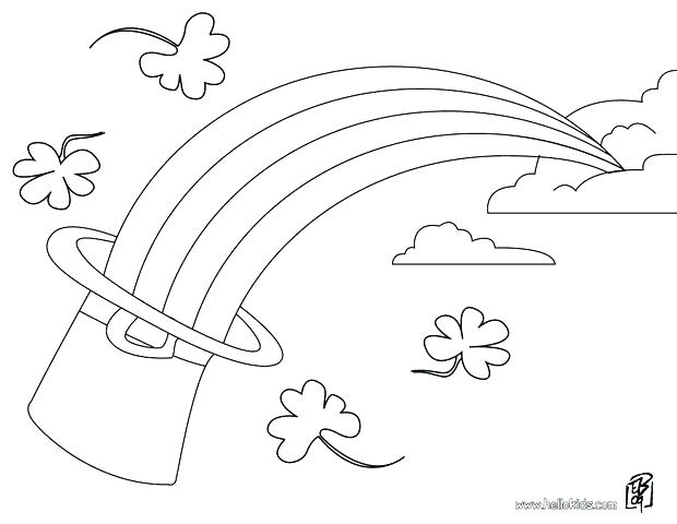 620x480 Leprechaun Coloring Pages Free