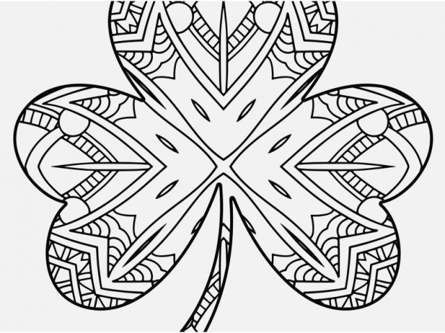 640x480 Shamrock Coloring Page Shoot Shamrock Coloring Pages For Adults