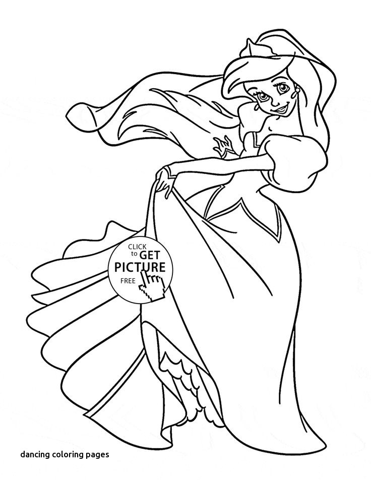 736x952 Irish Dance Coloring Page For Dancing Coloring Pages