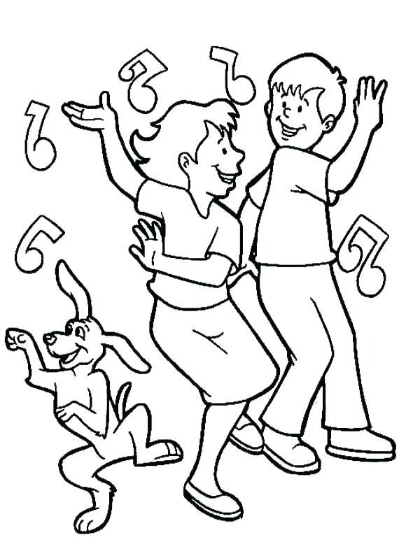 600x775 Irish Dance Coloring Pages
