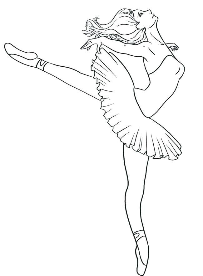 650x882 Dance Coloring Page Dance Color Pages Related Pictures Ballet Girl