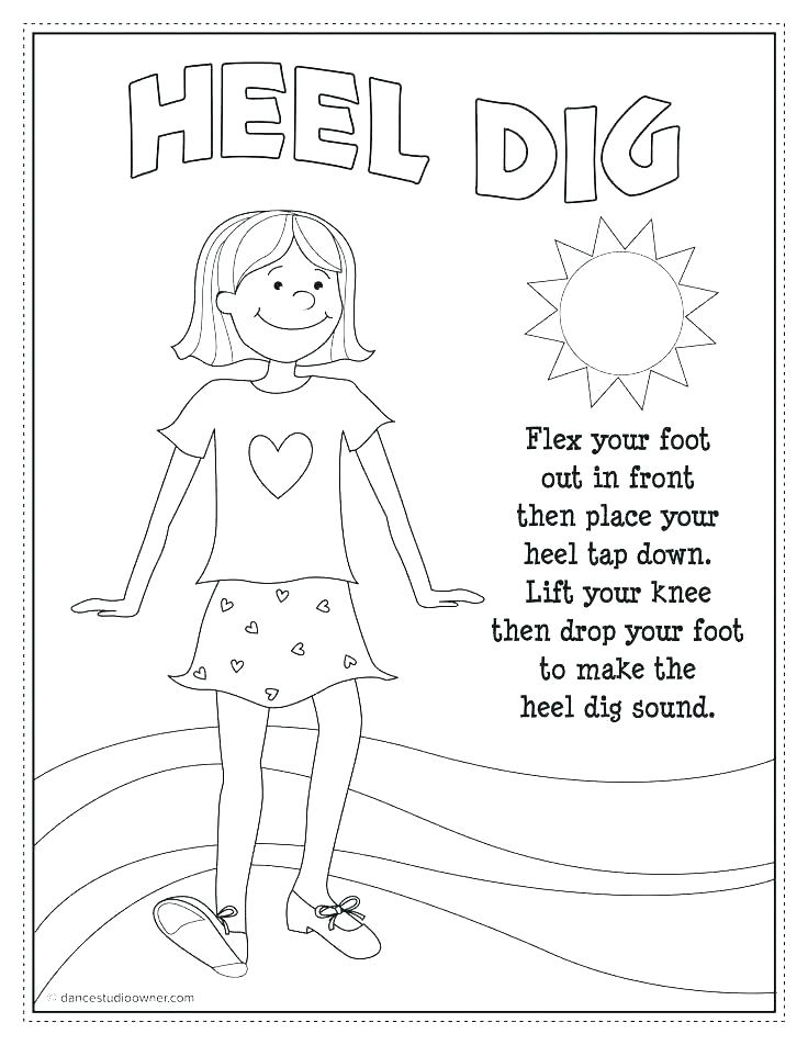 736x952 Dance Coloring Pages Dance Coloring Sheets Sparks Coloring Pages