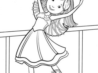 320x240 Dance Colouring Pages Dancing Coloring Pages I Love Irish
