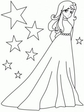281x374 Girl Irish Princess Girl Coloring Pages, Girl Just