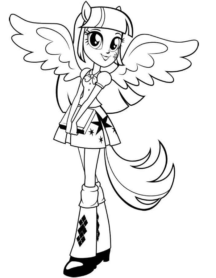 The Best Free Equestria Coloring Page Images Download From 555 Free