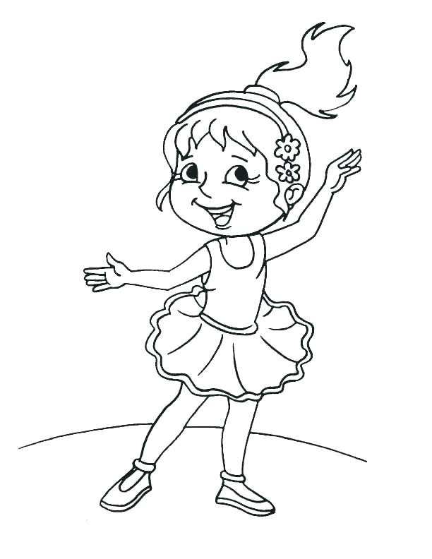 612x792 Dance Coloring Page Dance Color Pages Related Pictures Ballet Girl