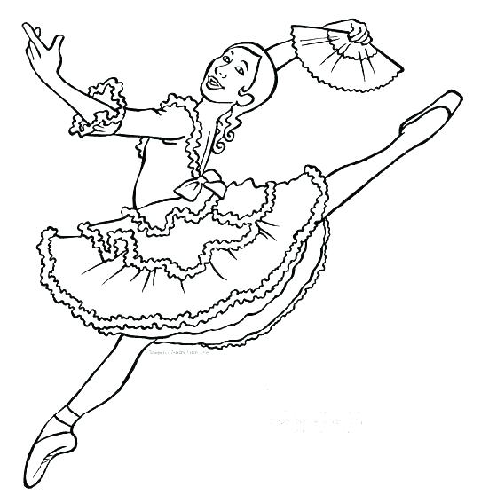 551x558 Dance Coloring Page Dancer Coloring Pages Dancing Coloring Pages
