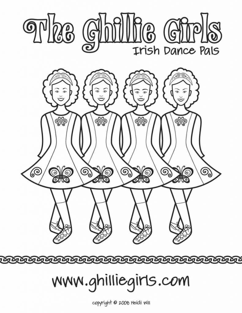 791x1024 Irish Coloring Pages Gites Loire Valley