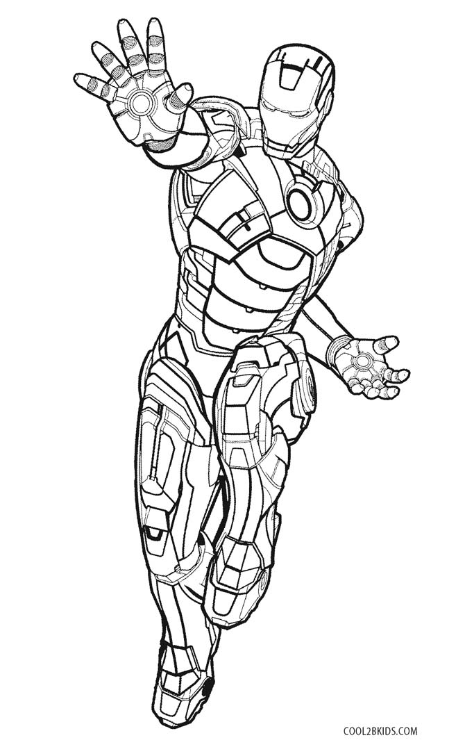 670x1075 Free Printable Iron Man Coloring Pages For Kids