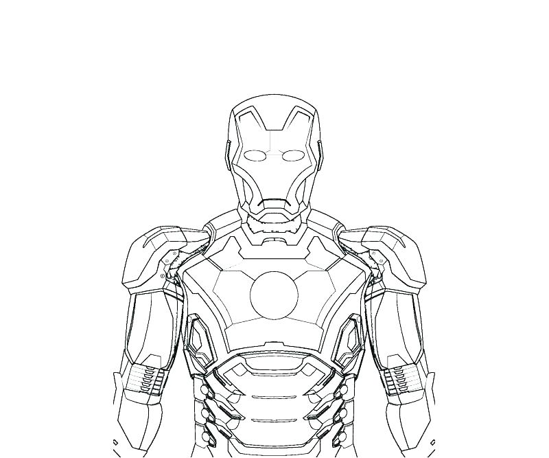 800x667 Iron Man Coloring Pages