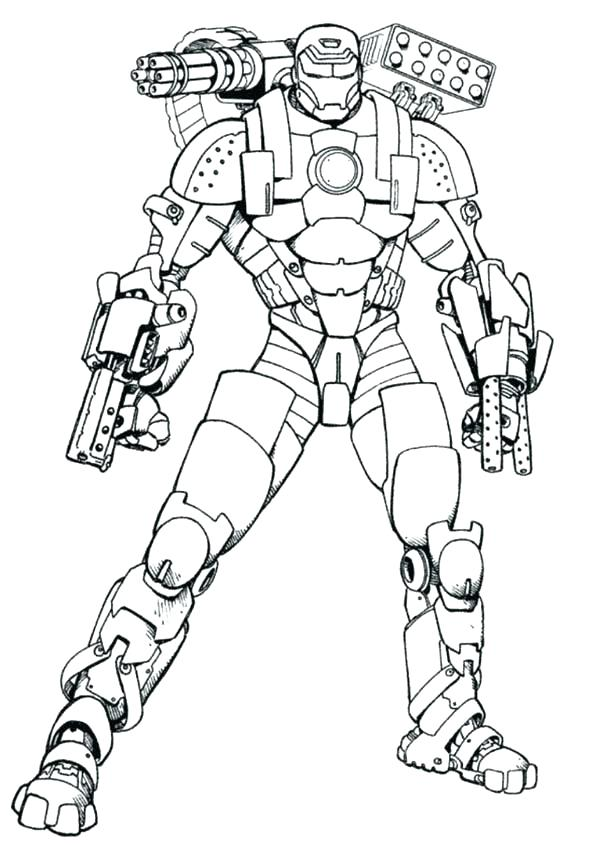 600x845 Colorear Avenger Avengers En Color Para Iron Man Coloring Page