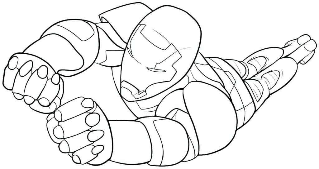 1024x545 Coloring Pages Iron Man Coloring Pages Character Superhero Iron