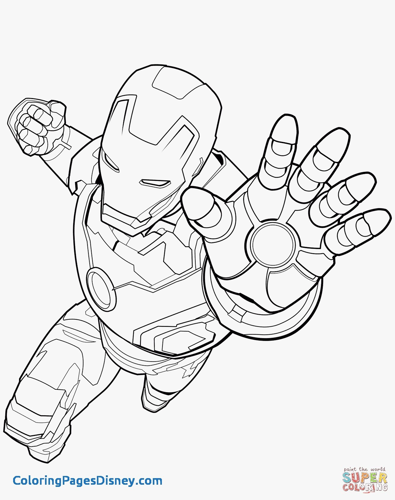 1264x1600 Coloring Pages Iron Man Fresh Iron Man Coloring Pages Coloring