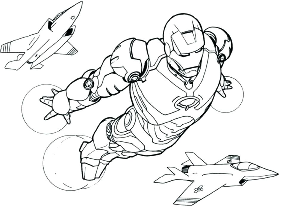 943x700 Iron Man Coloring Pages Mark Is On Duty In Iron Man Coloring