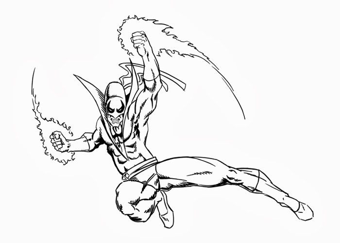 700x500 Iron Fist Coloring Pages Free Coloring Pages And Coloring Books