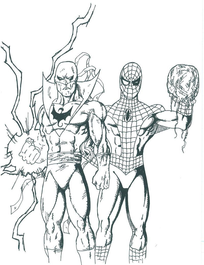 800x1037 Top Spiderman Coloring Pages Printable
