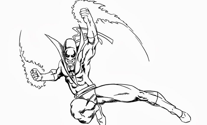 700x425 Fist Coloring Pages Iron Fist Coloring Pages Free Coloring Pages