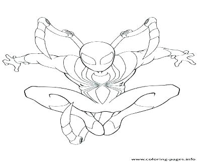 400x322 Iron Spiderman Coloring Pages