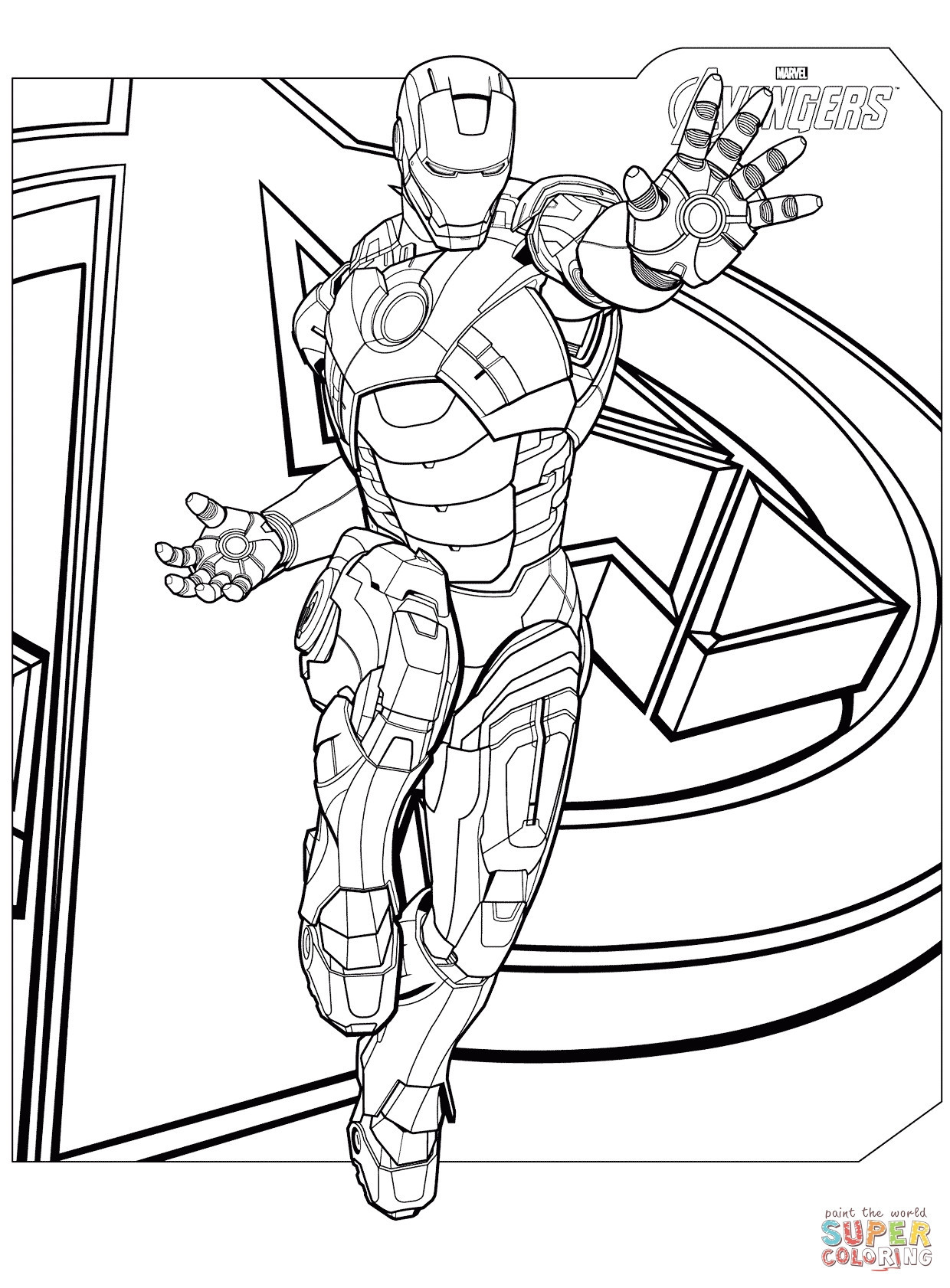 Iron Giant Coloring Page