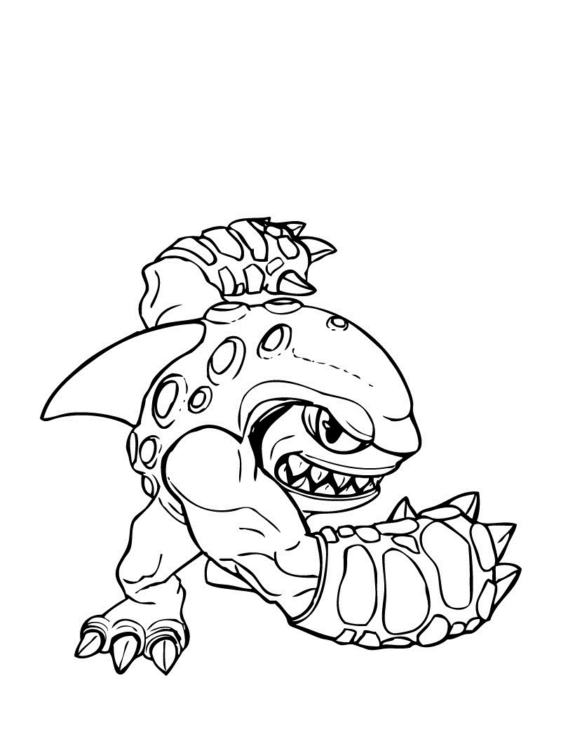 820x1060 Giant Coloring Pages Lovely Free Printable Skylander Giants