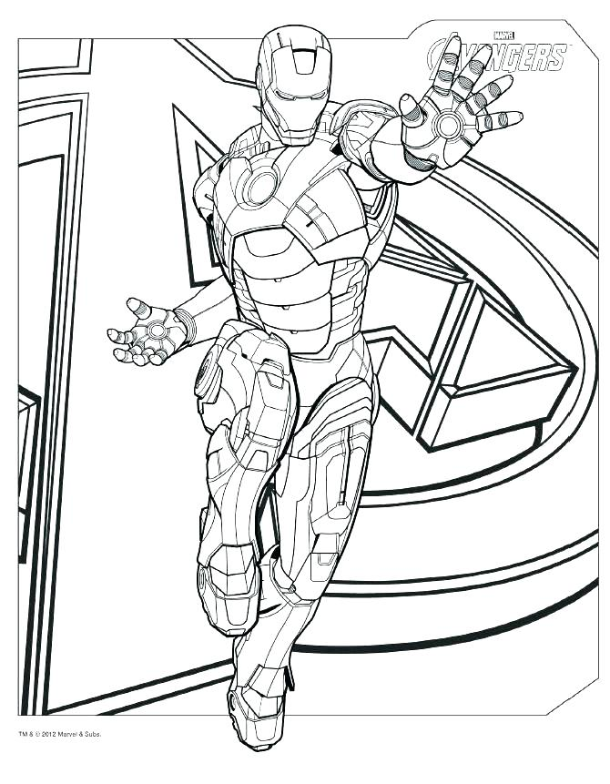 iron man 2 coloring pages 20