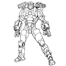 picture about Iron Man Printable Coloring Pages titled Iron Guy 2 Coloring Webpages at  Free of charge for