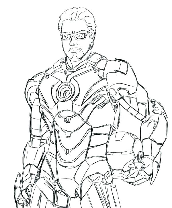 Iron Man 2 Coloring Pages at GetDrawings.com | Free for personal use ...