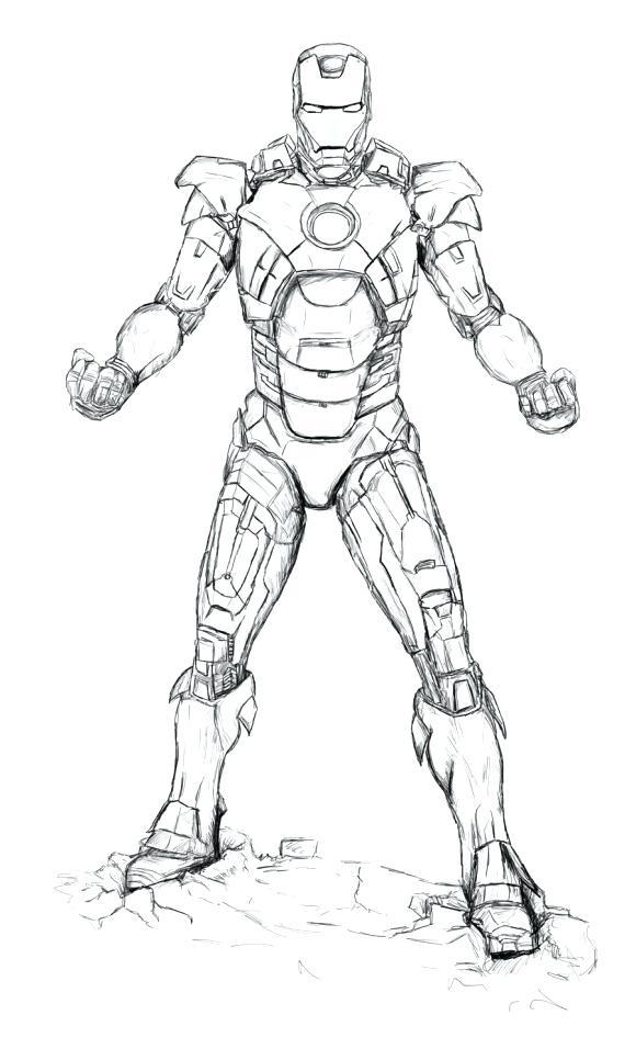 580x966 Iron Man Printable Coloring Pages Printable Iron Man Coloring