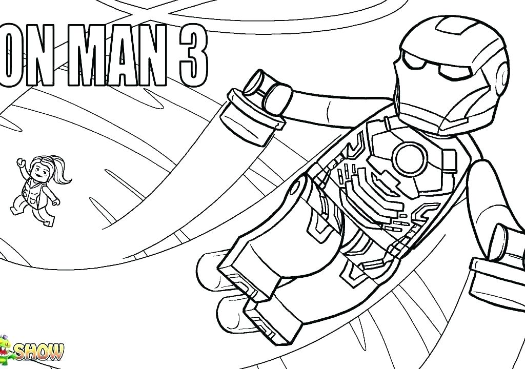 1024x720 Ironman Coloring Page Printable Coloring Pages Iron Man Easy Page