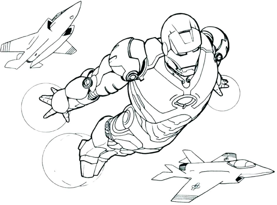 943x700 Printable Coloring Pages Kids Iron Man Coloring Pages Complete