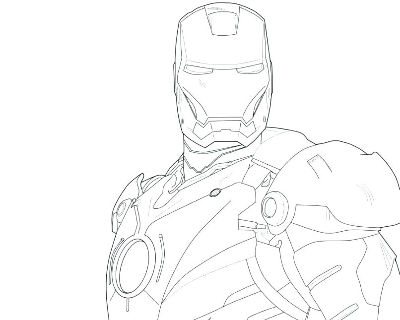 806x645 Standing Still Iron Man Coloring Coloring Pages Printable Standing