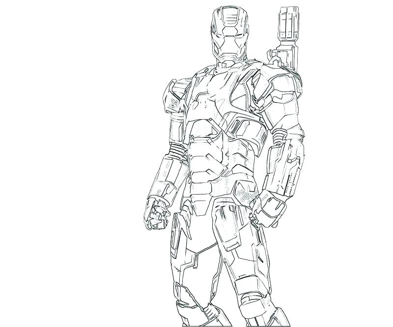 800x667 Iron Man Coloring Page Icontent