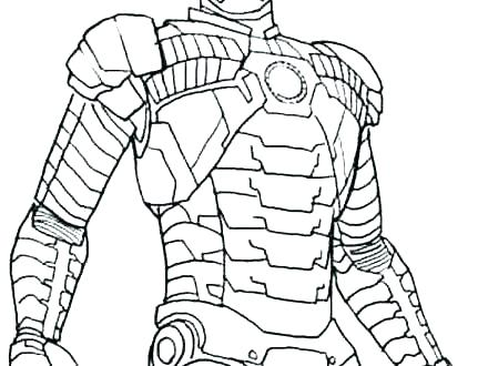 iron man cartoon coloring pages 22