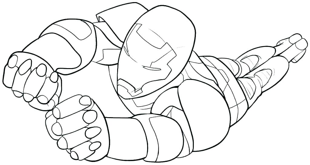 1024x545 Iron Man Coloring Pages Free For Kids Page Colouring Online