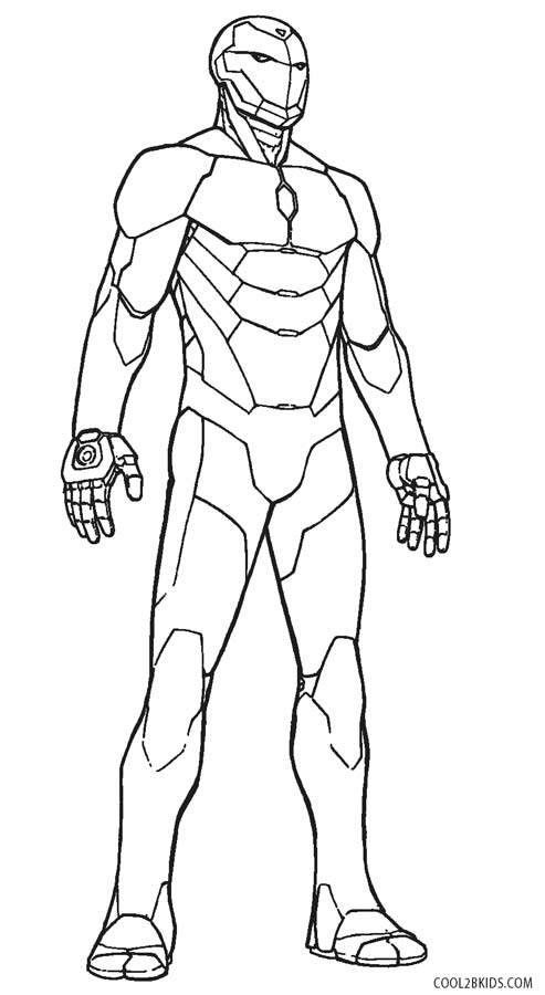493x900 Free Printable Iron Man Coloring Pages For Kids